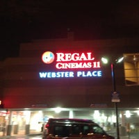 Photo taken at Regal Cinemas Webster Place 11 by Marcus R. on 7/27/2013