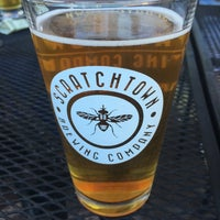 Photo taken at Scratchtown Brewing Company by Dana A. on 7/14/2016