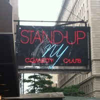 Photo taken at Stand Up NY by Kristin E. on 5/25/2013