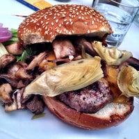 Photo taken at Barney's Gourmet Hamburgers by John E. on 5/25/2013