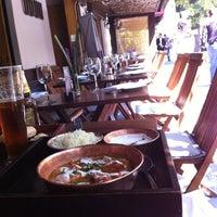 Photo taken at Ödün Restaurante Condesa by Tronics on 10/15/2012