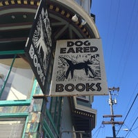 Photo taken at Dog Eared Books by Tim O. on 10/4/2015