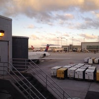 Photo taken at Gate D2 by Cari on 12/21/2013