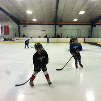 Photo taken at Raleigh Center Ice by Bren on 3/2/2014