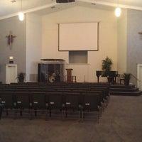 Photo taken at River Community Church by Jonathan J. on 3/1/2013