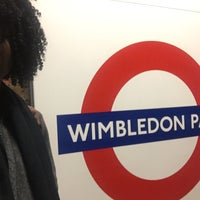 Photo taken at Wimbledon Park London Underground Station by Annetta J. on 11/6/2016