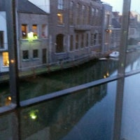 Photo taken at Ghent River Hotel by Carol V. on 2/16/2016