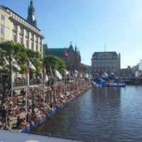 Photo taken at Hamburg by Dmitry S. on 7/22/2013