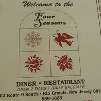 Photo taken at Four Seasons Diner & Restaurant by Nettie F. on 3/19/2013