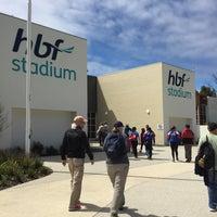 Photo taken at HBF Stadium by Bill S. on 10/25/2016