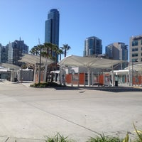 Photo taken at Temporary Transbay Terminal by Bill S. on 3/21/2013