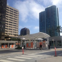 Photo taken at Temporary Transbay Terminal by Bill S. on 12/3/2012