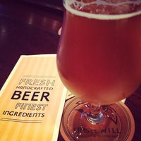 Photo taken at Iron Hill Brewery & Restaurant by Patricia B. on 12/16/2012