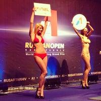 Das Foto wurde bei Дворец спорта «Динамо» von Полина К. am 7/26/2013 aufgenommen