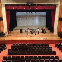 Photo taken at Teatro Escola Basileu França by Kirah v. on 5/11/2013