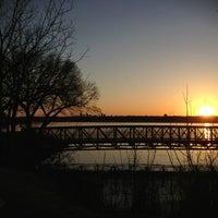 Photo taken at White Rock Lake Spillway by Susan M. on 3/14/2013