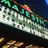 Photo taken at The Majestic Theatre by Michael R. on 10/24/2012