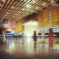 Photo taken at Boston Logan International Airport (BOS) by John L. on 9/12/2013