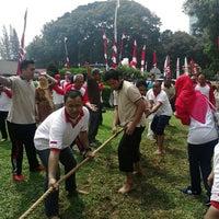 Photo taken at Gedung Manggala Wanabakti by sylvandari j. on 8/12/2016