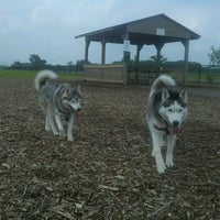 Photo taken at Kaposia Landing Off-Leash Dog Park by Matt B. on 6/10/2013