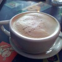 Photo taken at Pick Me Up Café by Arlene A. on 10/4/2012