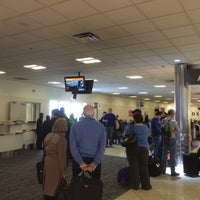 Photo taken at Gate A5 by Stephen G. on 2/23/2015