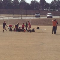 Photo taken at Mesa Soccer Complex by Stephen G. on 3/2/2014