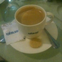 Photo taken at EXCELSO Café by guss p. on 12/15/2012