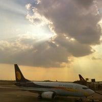 Photo taken at Rajiv Gandhi International Airport (HYD) by Sandeep on 2/6/2013