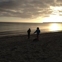 Photo taken at Craigville Beach by Alicia R. on 11/22/2012