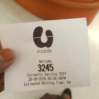 Photo taken at U Mobile Service Centre by Umi U. on 9/29/2016