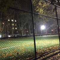 Photo taken at Lions Gate Soccer Field by Dimi B. on 11/11/2015