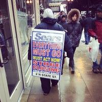 Photo taken at Sears by Brandon B. on 2/1/2014