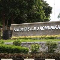 Photo taken at Fakultas Ilmu Komunikasi by Dian Sahara on 2/7/2014