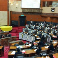Photo taken at Dewan Undangan Negeri Selangor by Azfar F. on 5/25/2016