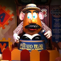 Photo taken at Toy Story Mania! by Lindsay K. on 3/7/2013