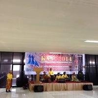 Photo taken at STMIK Dipanegara Makassar by Sandhika G. on 2/27/2014