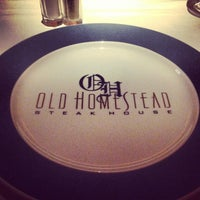 Photo taken at Old Homestead Steakhouse by Alain K. on 7/8/2013