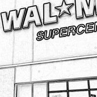 Photo taken at Walmart Supercenter by Valö B. on 6/29/2014