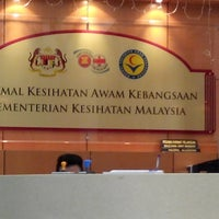 Photo taken at Makmal Kesihatan Awam Kebangsaan by wawa z. on 6/9/2014
