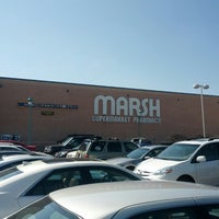 Photo taken at Marsh Supermarket by Johnny S. on 3/28/2013