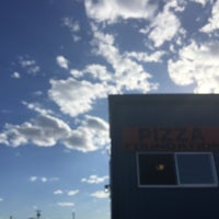 Photo taken at Pizza Foundation by Amanda on 8/7/2016
