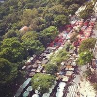 Photo taken at Feira de Artes e Artesanato de Belo Horizonte (Feira Hippie) by Diana D. on 4/14/2013