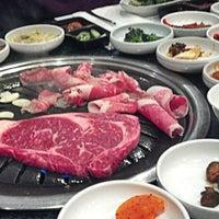 Photo taken at Aria Korean BBQ by Rodney M. on 4/17/2013