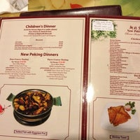 Photo taken at New Peking Chinese Restaurant by Michael W. on 11/7/2012