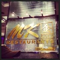 Photo taken at MK Gold by pera on 1/2/2013