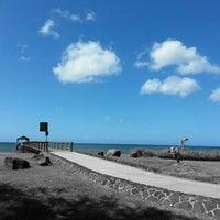 Photo taken at Waimea Recreation Pier by ernie e. on 4/13/2016