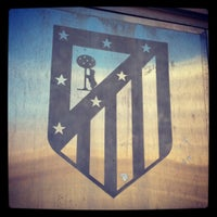 Photo taken at Estadio Vicente Calderón by Maria on 11/12/2012