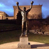 Photo taken at Rocky Statue by Darshan R. on 12/27/2012