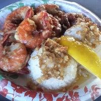 Photo taken at Giovanni's Shrimp Truck by Aki I. on 10/10/2012